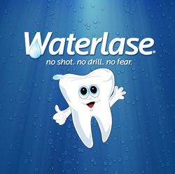 Waterlase Laser Dentistry Logo - Happy Tooth
